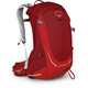 Osprey M's Stratos 24 Beet Red